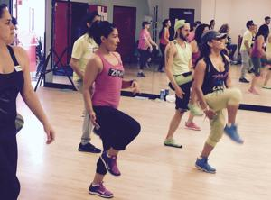 Every day's a dance party for Zumba instructor