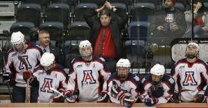 New UA hockey coach skates fine line while rebuilding