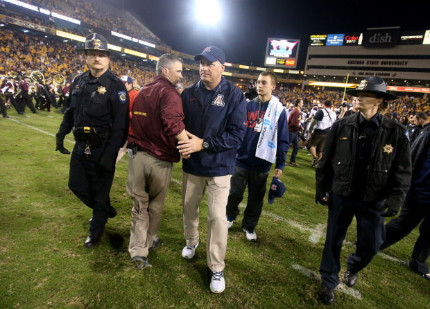 Hansen: No love lost between UA, ASU coaches