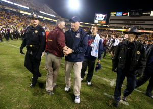Hansen: No love lost between UA, ASU coaches