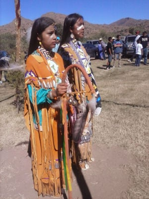 Apache leader: Unite to fight proposed Arizona copper mine