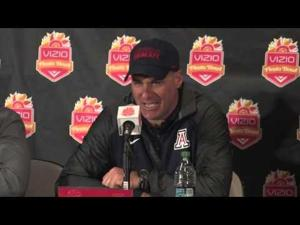Rich Rod and players discuss loss to Broncos