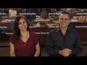 Neto y Liliana reciban una representante de México