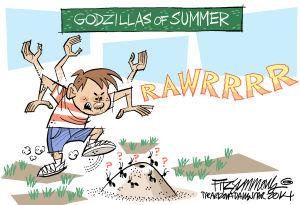 Last Laugh Godzilla