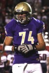 High school football: Sabino's stronger, more agile Mike eager to get offensive line churning