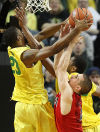 Oregon 64, No. 3 Arizona 57