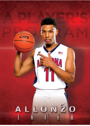 Arizona basketball: Trier named to top SG watch list