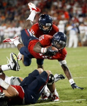 Photos: Arizona 59, Oklahoma State 38