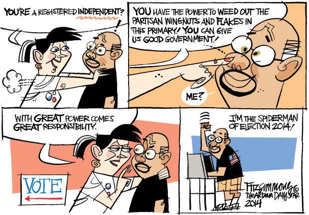 Daily Fitz Cartoon: Primary