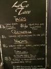 LaCo menu