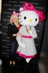 SMASH Star Megan Hilty Celebrates the Launch of Hello Kitty Big Pink Bow Fragrance at the Re-Opening of Sephora Soho