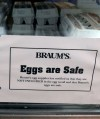 You may yet end up eating eggs laid by potentially infected hens