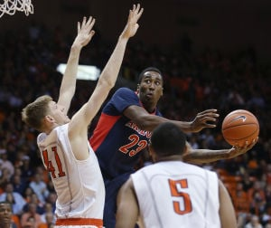 Photos: No. 3 Arizona 60, UTEP 55