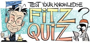 Fitz Blog: Your Monday Morning Fitz Quiz