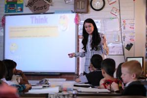 Walter Douglas Elementary teacher's classroom goal: change the world