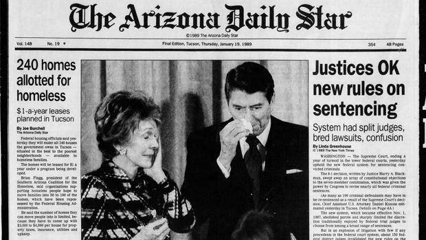 Arizona Daily Star front pages: League of Nations begins