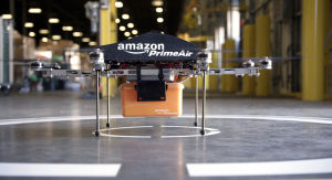 Amazon wants to test delivery drones outdoors