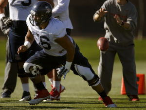 UA football: Gurrola moving on from Oregon mishap