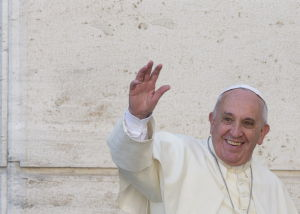 Pope: Evolution is real, God is no wizard