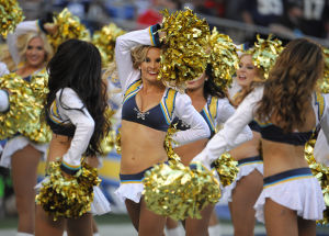 Photos: Chargers vs. Broncos cheerleaders, fans