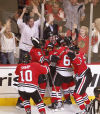 NHL PLayoffs: Blackhawks advance on Seabrook's goal in OT