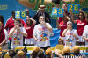 Joey Chestnut, Tim Janus, Matt Stonie