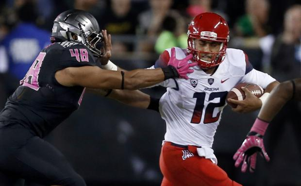 Photos: Arizona 31, Oregon 24