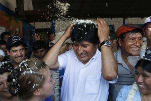 FAO: Evo Morales llama a terminar con el hambre