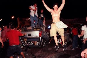 Photos: Arizona championship game riots in 1997 and 2001