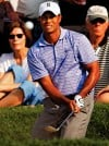 Tiger puts on a show, leads by 7 after course-record 62