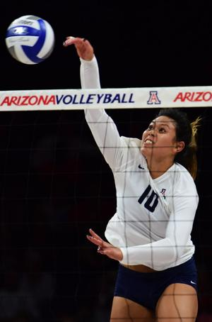 Arizona volleyball: Cats studying up on tough Hilltoppers