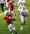 Casino del Sol College All-Star Game Small-college receiver makes his biggest grab