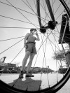 Pause in the pedaling