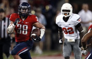 Photos: UA sports Throwback Thursday Jared Tevis