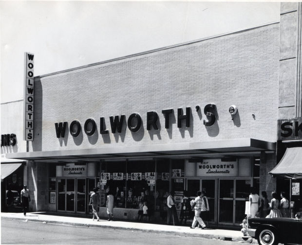 Historic Photos America S First Chain Store F W Woolworth