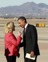 Brewer to greet Obama today; no finger-wagging anticipated