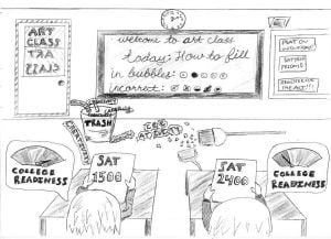 Students and Election 2014: Student cartoons 6