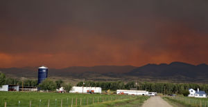 Photos: Colorado widfire rages