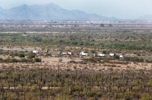 Arizona's deadliest corridor for dust storms is 10 miles between Tucson and Phoenix