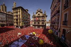 Comienzan los Sanfermines en España