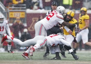 Rebuilt defensive unit lifts Buckeyes