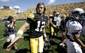 Hawkeyes QB sports winning personality