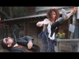 Pistoleros stunt show at Trail Dust Town