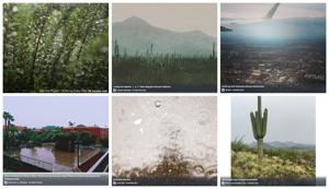 People are sharing amazing Tucson rainy day photos on social