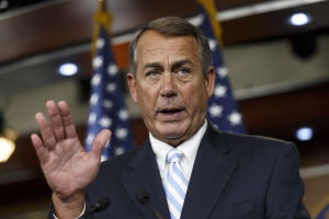 Boehner: No time to celebrate