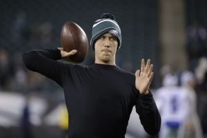 Ex-Cat Foles will sit again Saturday