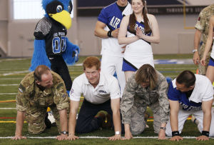 Photos: Britain's Prince Harry attends 2013 Warrior Games