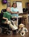 Handi-Dogs, handlers pause to celebrate