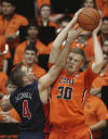 No. 7 Arizona Wildcats vs. Oregon State Beavers men's college basketball