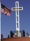 Administration asks court to let large cross stay as war memorial
